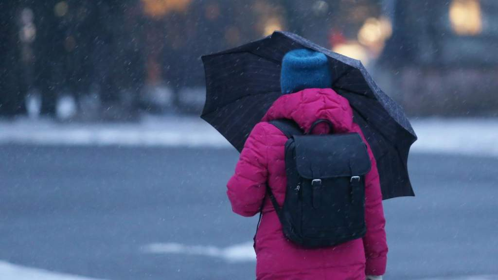 Вторник будет пасмурным и дождливым