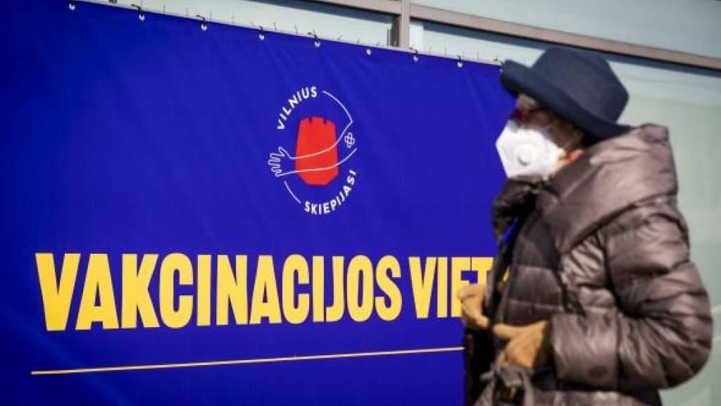 В Вильнюсе система регистрации для вакцинирования от COVID-19 работает с перебоями