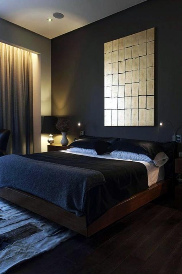 Modern Masculine Bedroom Ideas Novocom Top