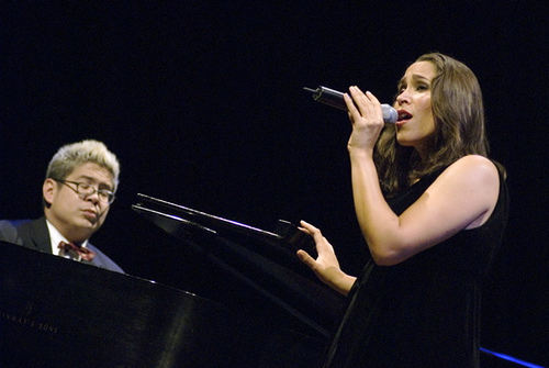 Thomas Lauderdale '92 and China Forbes '92, both of Pink Martini/Flickr/Harvard Magazine