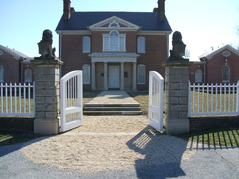 Mount Clare Mansion, image courtesy Jack Breihan, 2009