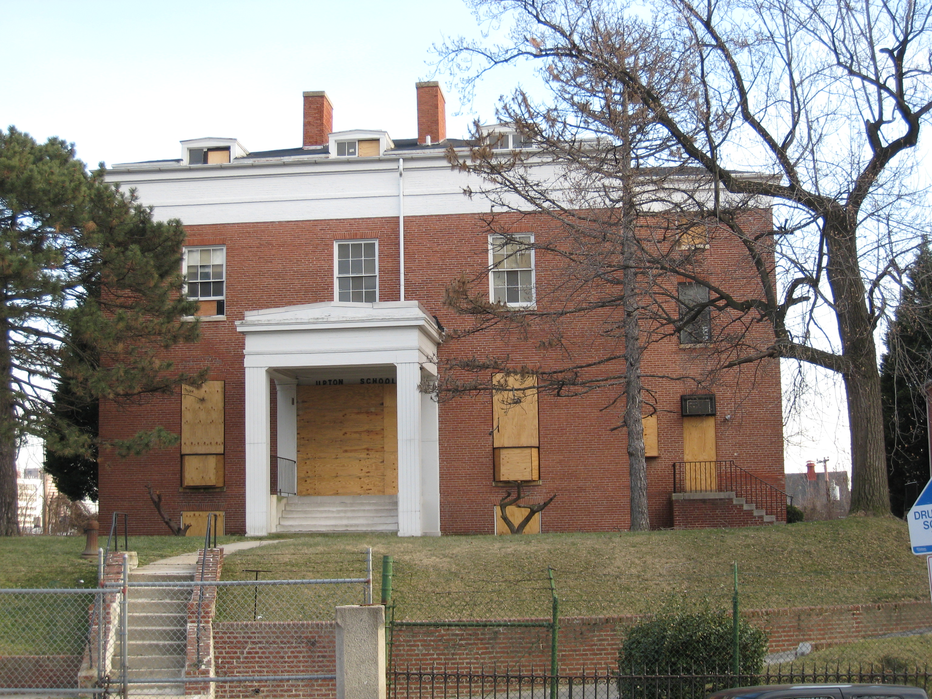 Baltimore building of the week upton mansion baltimore for Upton builders