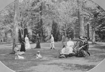 A.S. Abell Family at Guilford, courtesy the Charles Hall Abell Family Album/Guilford Association