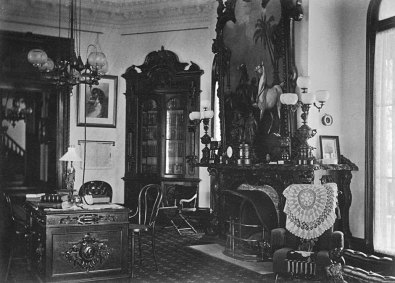 Interior view of Guilford Mansion, courtesy the Guilford Association