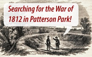 Learn more about our archaeological investigation of Patterson Park this spring.