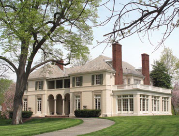 Photograph of a Italianate revival home in Guilford designed by Bayard Turnbull. Courtesy the Guilford Association.