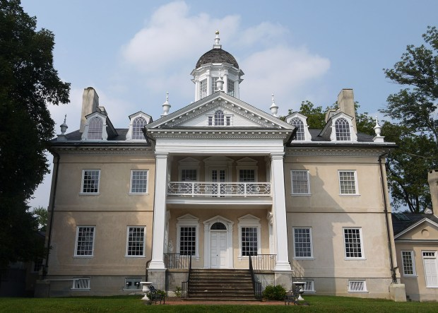 Exterior view of Hampton Mansion