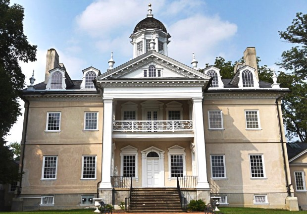 Exterior of Hampton Mansion