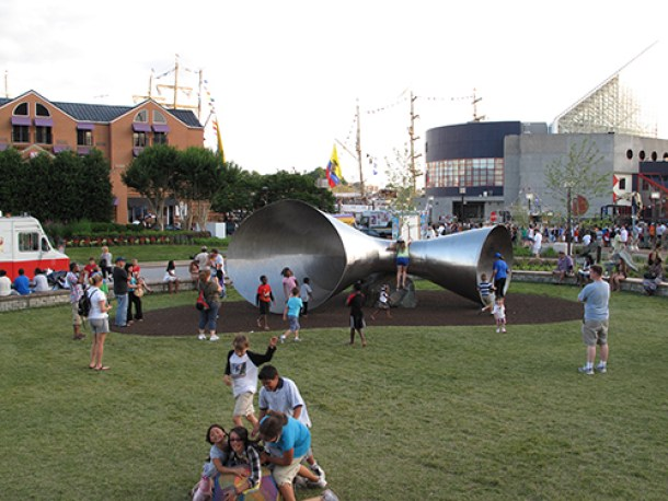 Pierce's Park is one of many free things to do with kids in Baltimore
