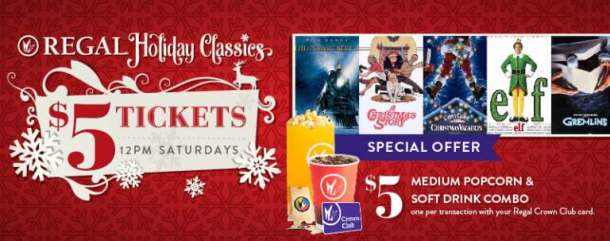 Holiday Classic Movies at Regal Theaters