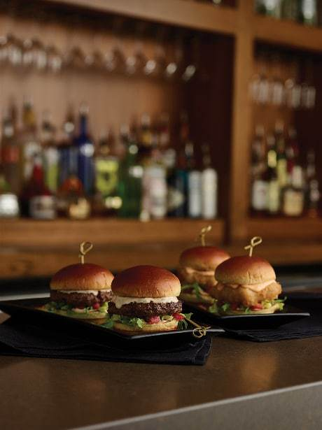 Happy hour appetizers at Bonefish Grill