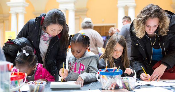 Kids programs at Walters Art Museum