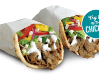 Get Gyro Flatbread for $1 at Quiznos