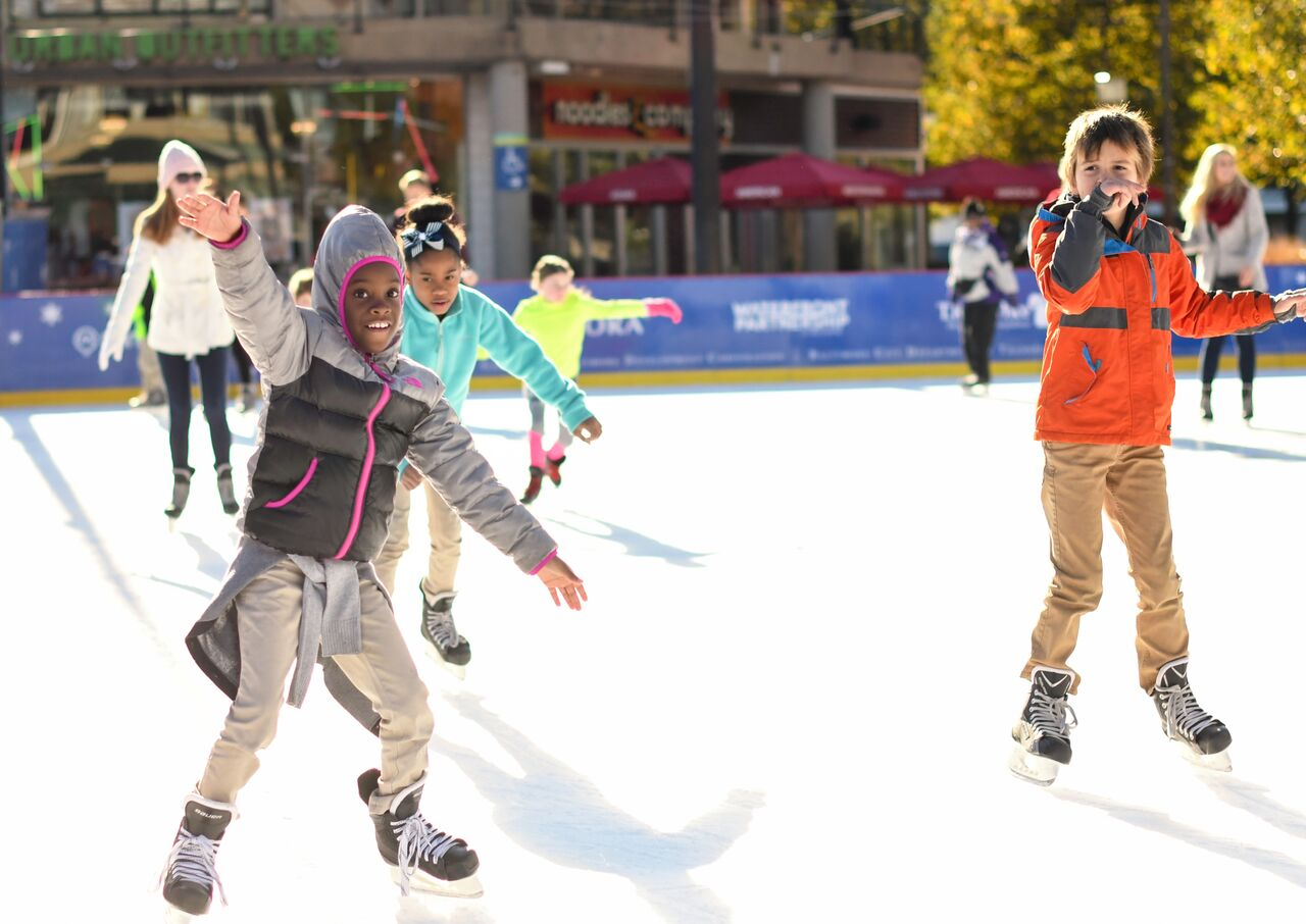 PANDORA Ice Rink at The Inner Harbor opens for the season183