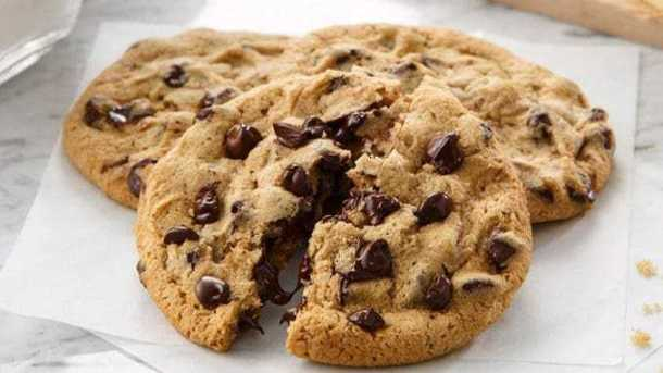 Chocolate chip cookies for National Cookie Day