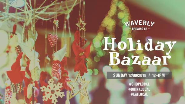 Waverly Brewing Holiday Bazaar