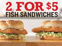 Arby's fish sandwich deal