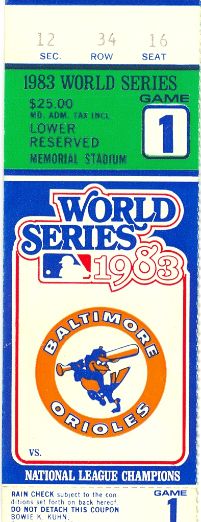 Chapter 7: Finally, a 1983 World Series crown for Baltimore