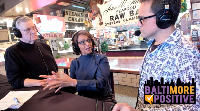 Dixon recaps her life in West Baltimore and pitch to be mayor again