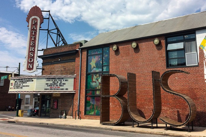 Caruso tells the wonders of the former Patterson movie theatre called The Creative Alliance