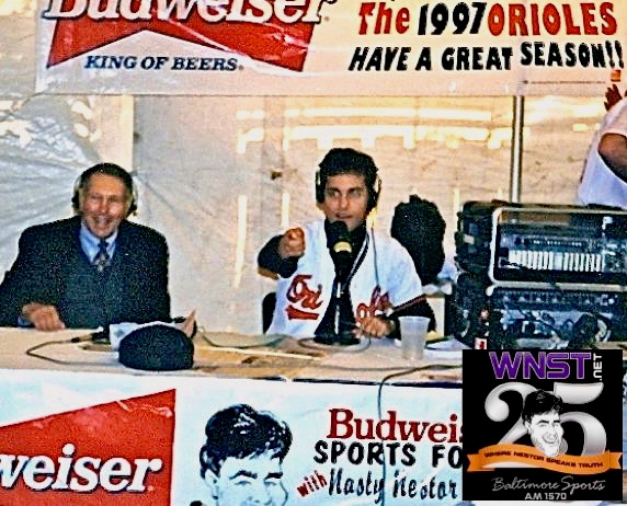 Was Nestor nervous the first time he sat down to interview Brooks Robinson?