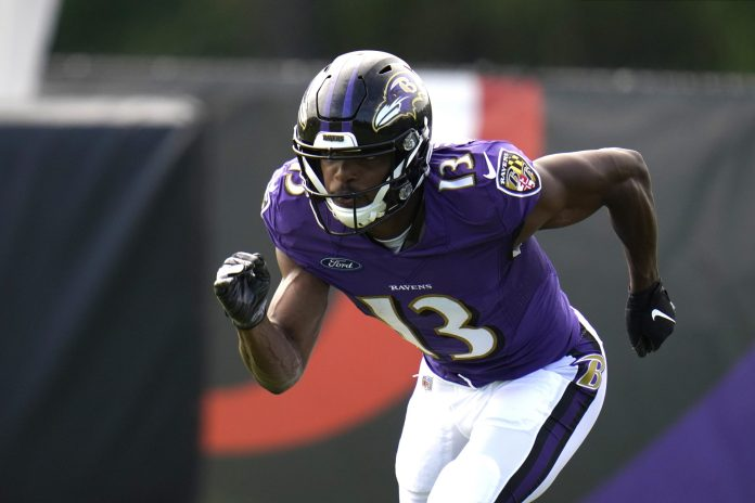Duvernay making fast case for bigger role in Ravens offense