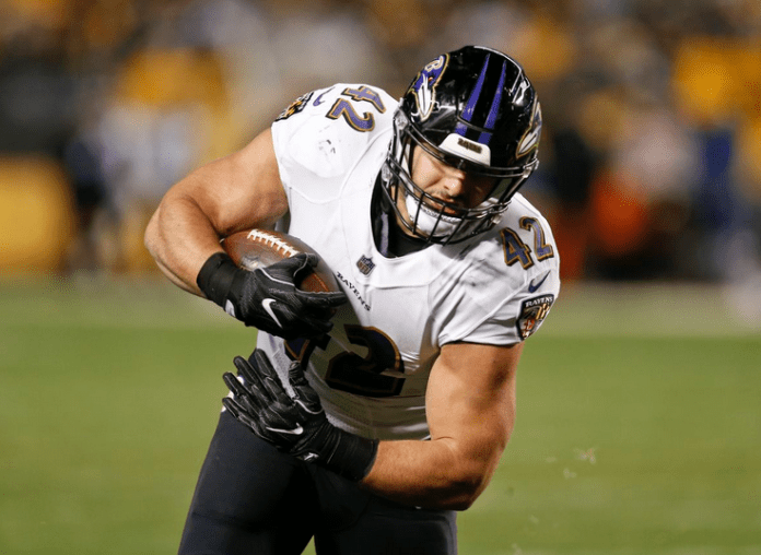 Coming off hip surgery, Ricard feeling strong as new Ravens season approaches