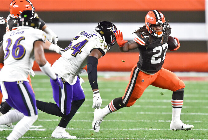 How did Ravens outside linebackers stack up to rest of NFL in 2020?