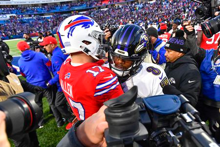 Sizing up Saturday night: Ravens and Bills provide contrasts