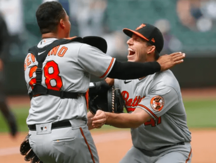 How do we even process a no-hitter by an Orioles pitcher?