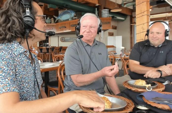 Ocean Mayor Rick Meehan kicks off the Maryland Crab Cake Tour in Ocean City
