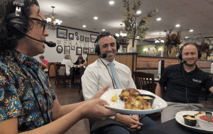 The East Baltimore lineage of the Fratelli's crab cake in Salisbury