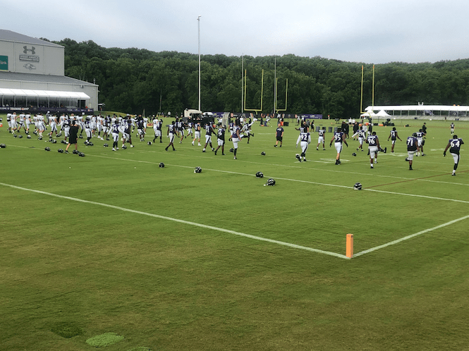 Twelve Ravens thoughts following Tuesday's open practice