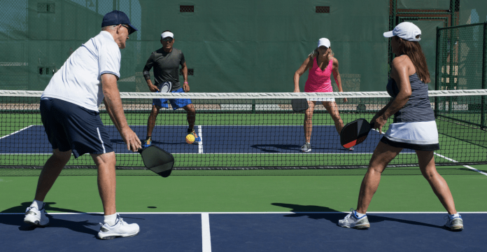 """Someone has to explain this """"Pickleball"""" thing to us?"""