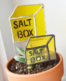 Saltbox Garden Stakes