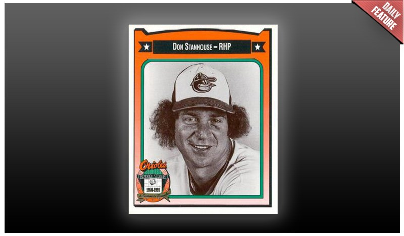 1991 Crown/Coca Cola Don Stanhouse Trading Card