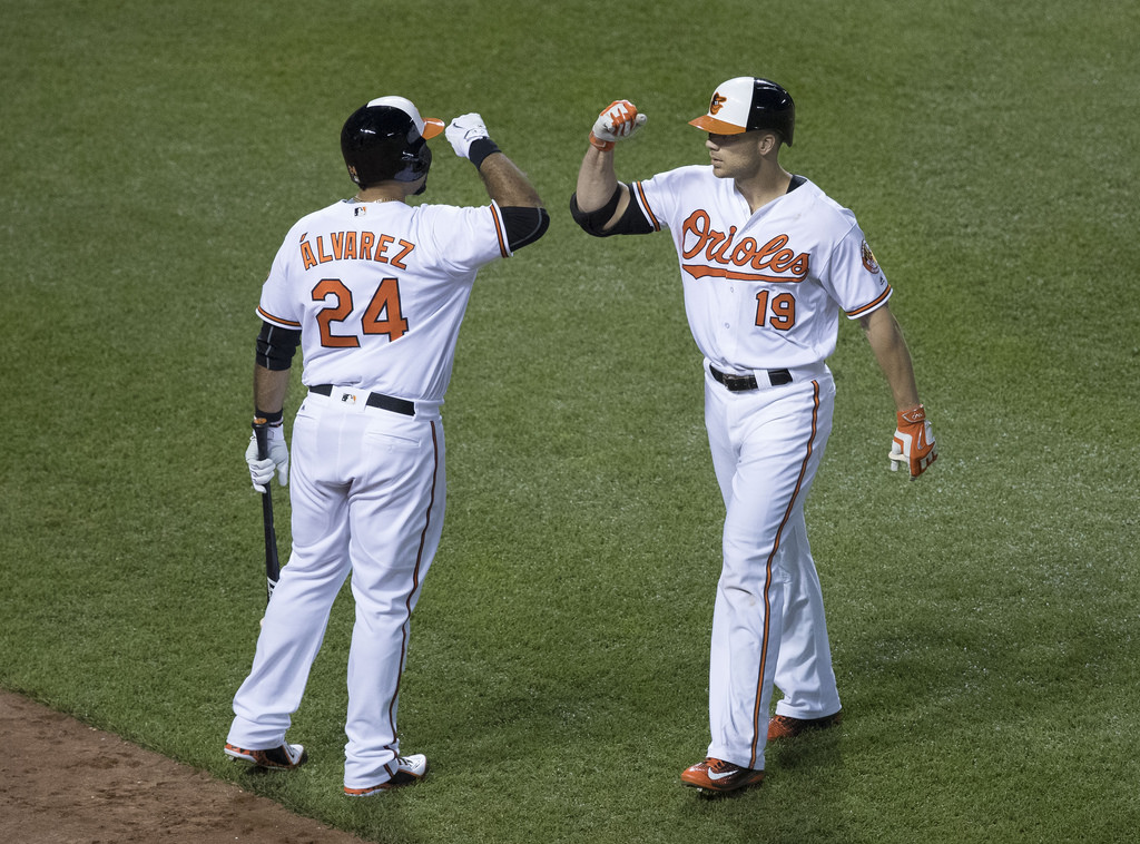 Pedro Alvarez and Chris Davis - Baltimore Orioles
