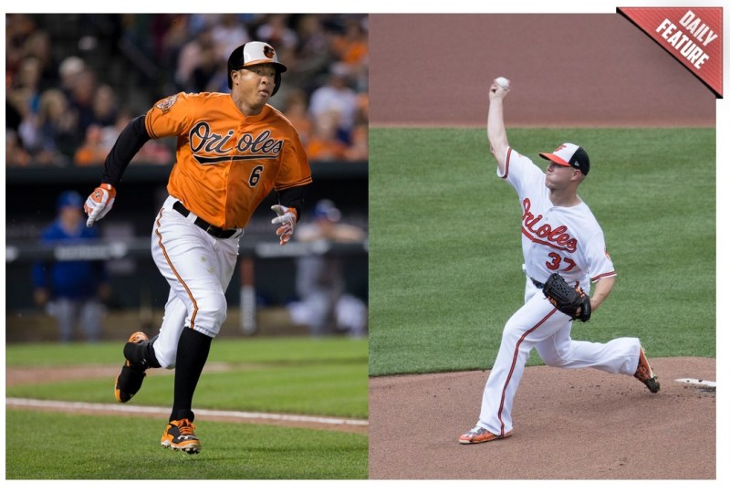 Baltimore Orioles - Jonathan Schoop and Dylan Bundy