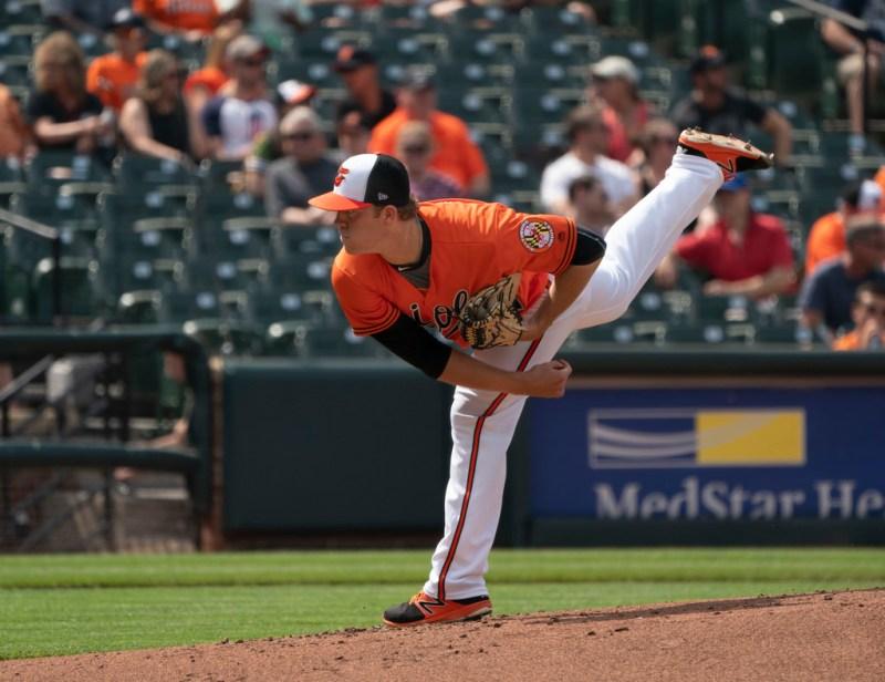 David Hess - Baltimore Orioles pitcher