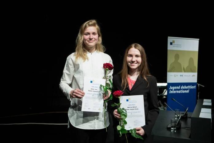 Kristin Sigus und Anna-Liisa Merilind aus Estland
