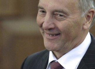 Der lettische Präsident Andris Berzins © Sputnik/ Oksana Djadan