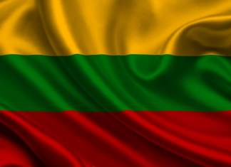 Lithuanian national flag