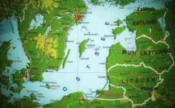 Map Baltics
