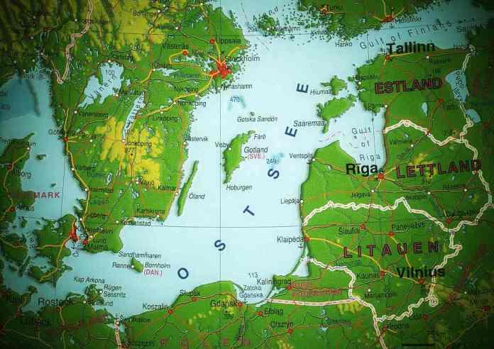 Baltics map