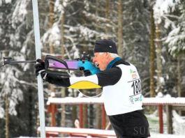 Siegfried Kaltenbach ist noch immer voll dabei. Er trainiert unter anderem auch regelmäßig auf der Anlage des Rothaus-Loipenzentrums in Schönwald und hält sich durch Training im Kraftraum fit. | Bild: Hans-Jürgen Kommert