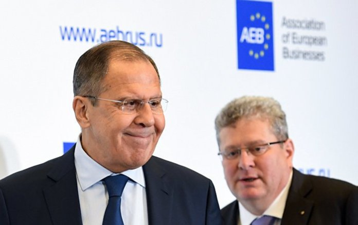 """Lawrow deckt """"anti-russische Karte"""" Europas auf"""