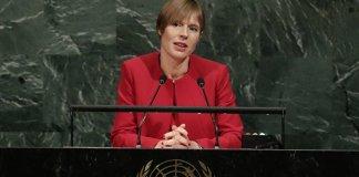 Estnische Präsidentin zieht samt Kanzlei in Russen-Enklave um