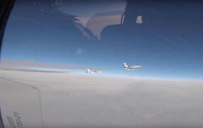 Begleitung russischer Su-30 über Ostsee: Pentagon veröffentlicht Abfang-VIDEO