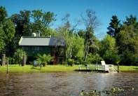 Flotte hus langs kanalene