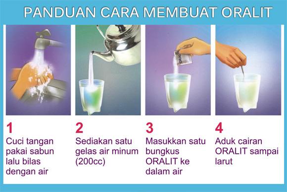 cara membuat oralit